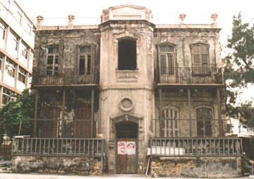 בית מני ברחוב יהודה הלוי בת''א לפני השיפוץ (צילום: איתמר גרינברג)