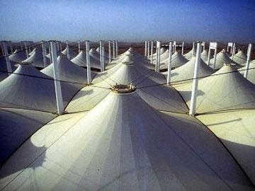 אוהלים בחצי האי ערב. ג'דה (צילום: Luthador, cc)