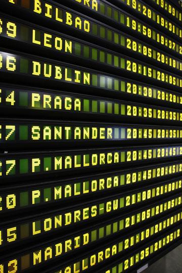 ממתינים לטיסה בבילבאו (צילום: shutterstock)