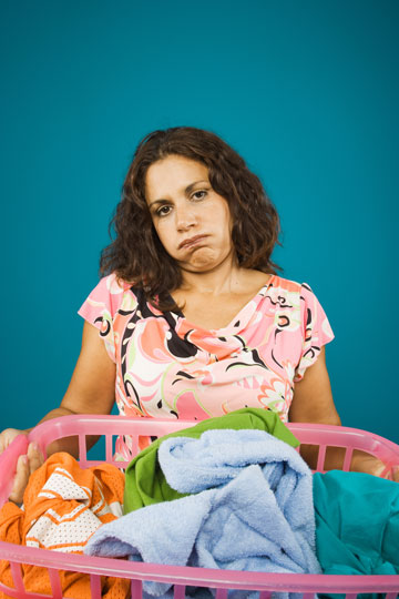 מסיבות כביסה זה סבבה והכל, אבל מי מתכוון לנקות אחר כך? (צילום: shutterstock)
