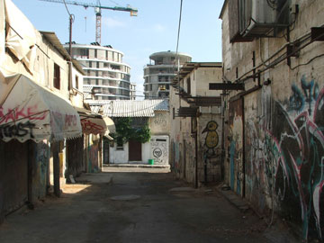 בינתיים, התשתיות בשכונה אינן עומדות בעומס (צילום: עילם טייכר )