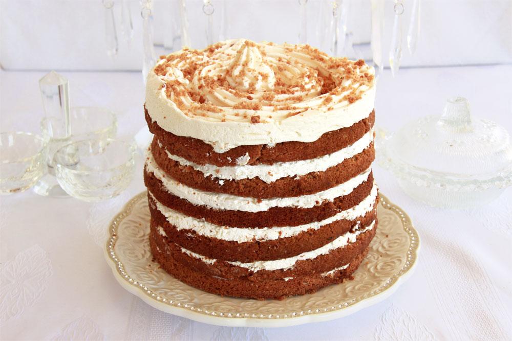 מגדל מתוק. עוגת דבש בשכבות (צילום: אסנת לסטר )