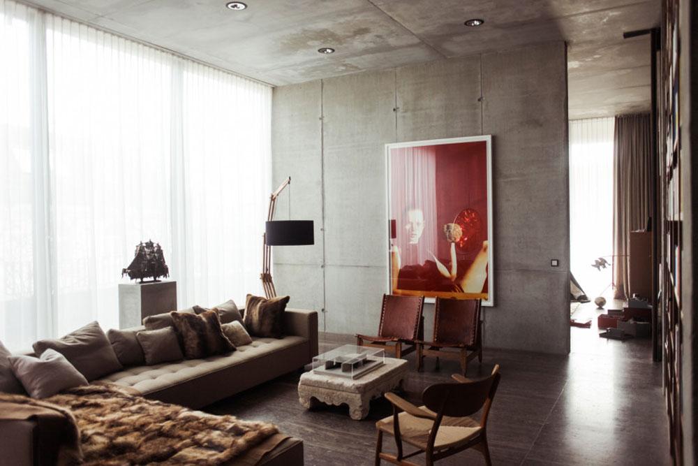 צילום אופנה מוקדם של האמן הגרמני וולפגנג טילמנס, אותו רכש בורוס לפני שהאמן זכה להצלחה בינלאומית (צילום: Ailine Liefeld for Freunde von Freunden)