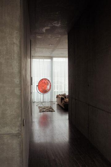 בין הקירות מסתתר בית (צילום: Ailine Liefeld for Freunde von Freunden)