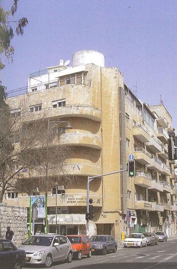 בית מקובר בירושלים, שנבנה ב-1938 (צילום: דוד קרויאנקר)