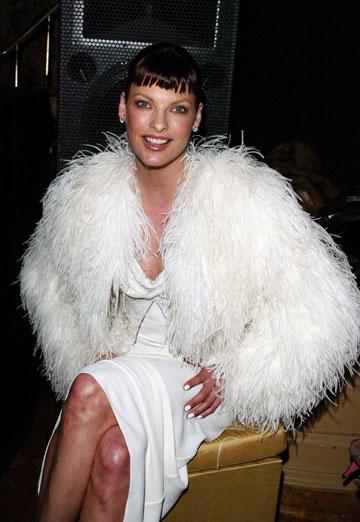 שלטה בכיפת האופנה במשך 14 שנים ברצף. אוונג'ליסטה, 2003 (צילום: gettyimages)