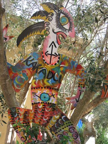 גלריית קקאדו. אמנות שימושית (צילום: אריאלה אפללו)