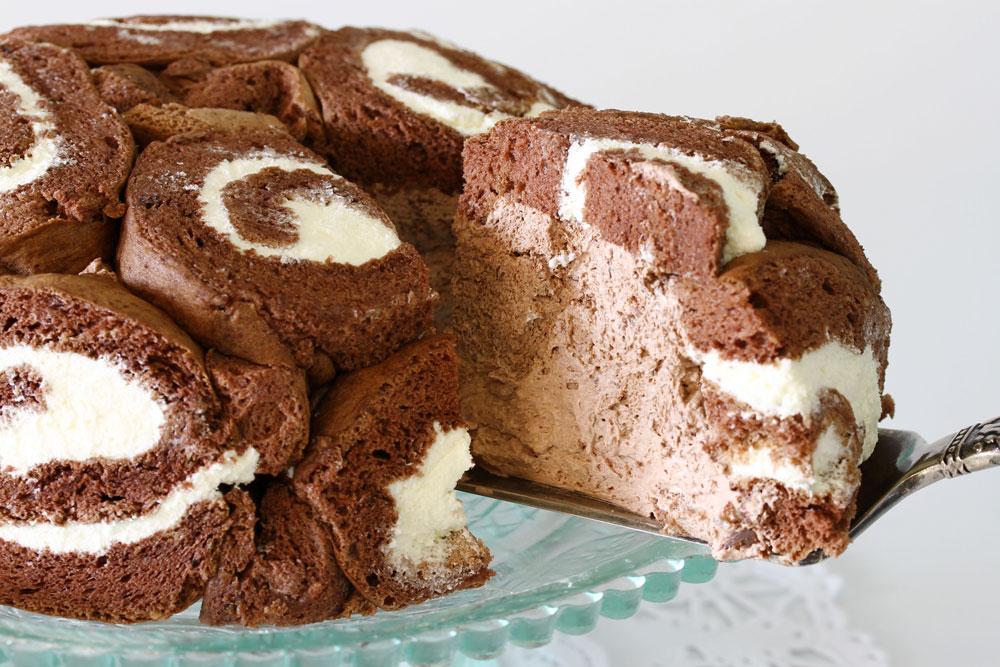 מקור מלכותי. עוגת שארלוט (צילום: אסנת לסטר)