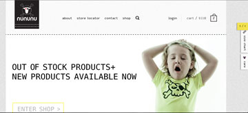 NUNUNU. לא מעט מוצרים כבר אזלו מהמלאי (מתוך nununubaby.com)