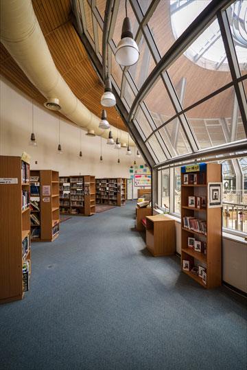 הספרייה הענקית (צילום: איתי סיקולסקי)