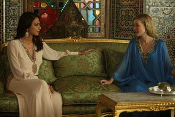 """העולם המוסלמי הוא מקור השראה מאוד חזק בכל הסדרה הזו"""". מתוך הסדרה """"הרודן"""""""