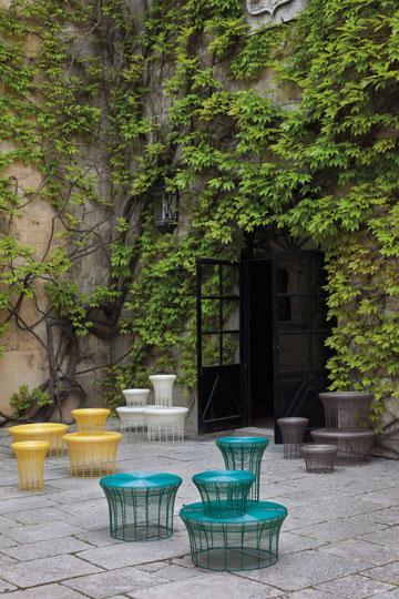 מתאימים גם לגינה וגם לפנים הבית, השרפרפים של ''ננדו'' (באדיבות הביטאט)