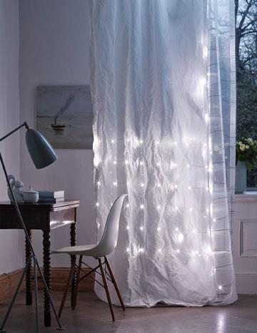 וילונות עם תאורת לד. eLumino (באדיבות נוסבאום)