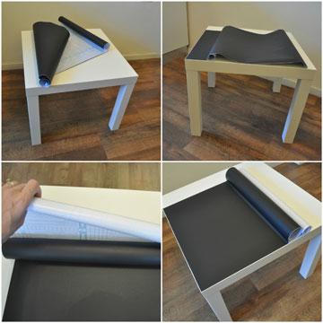 ציפוי שולחן גליל טפט לוח גיר  (צילום: דפי לויאב גופר )