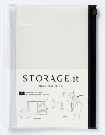 כך הוא נראה כשהוא ריק. ''Storage It''
