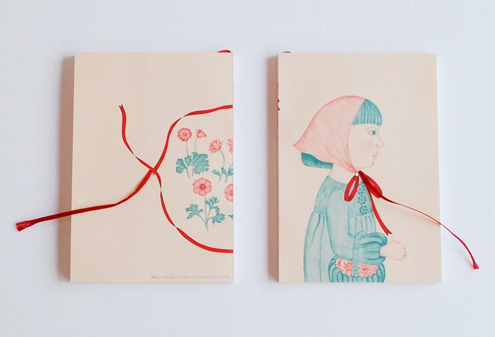 עוד סדרה של המעצב היפני  יוז'י וואטאנאבה נקראת ''סרט'', ובה הסרט משמש גם כאלמנט עיצובי וגם כסימנייה שימושית. 60 שקל לאחת, ''היבינו'' (באדיבות hibino design team)