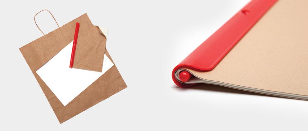 למי שמעוניין דווקא במיחזור, ''אקו קליפ'' הוא פתרון שדורש מאמץ קל בלבד, ואוגד ניירות למחברת בפעולה חלקה אחת. על כך גם זכה בפרס RED DOT לעיצוב. 46 שקל, ''אנימי''