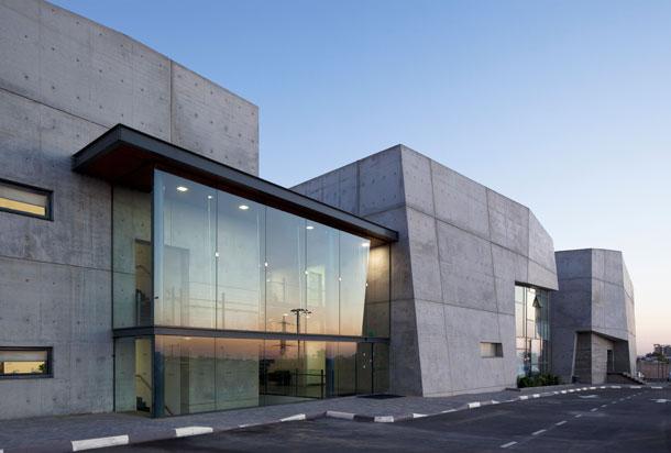 בית הלוחם בבאר שבע, בתכנון קימל אשכולות (צילום: שחף זית )