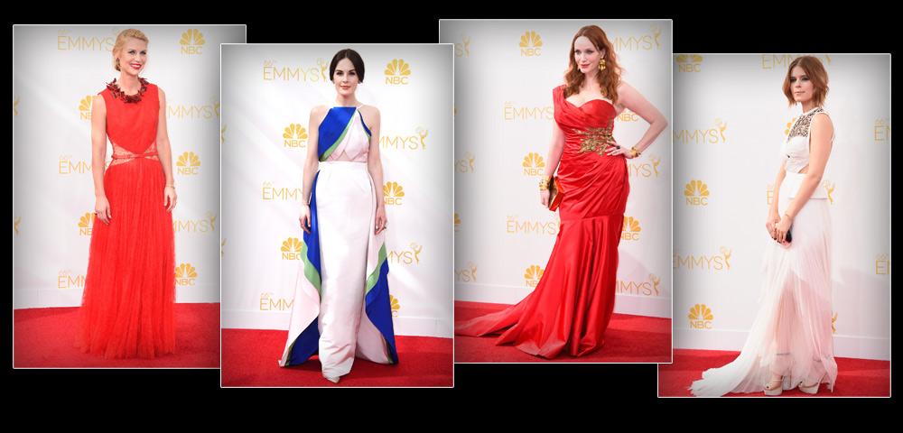 קייט מארה, כריסטינה הנדריקס, מישל דוקרי וקלייר דיינס כובשות את השטיח האדום (צילום: gettyimages)