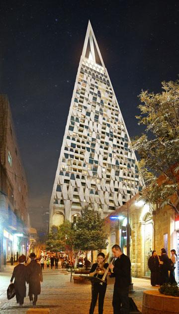 ירושלים צריכה אפקט WOW, אמר האדריכל (תכנון: Studio Libeskind)