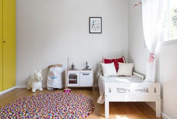 צדו השני של חדר הילדים (צילום: איתי בנית)