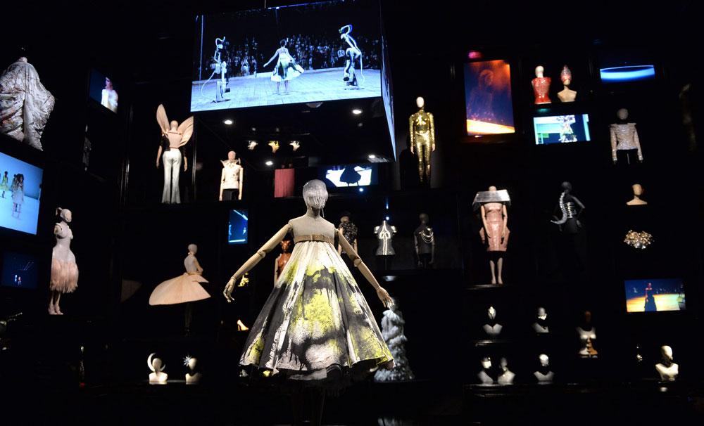 המבקרים נדרשו לתאם הגעה לתערוכה שבועות מראש (צילום: gettyimages)