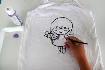 העתיקו אותו לחולצה, ותנו לילדים לצבוע (צילום: ענבל עופר )