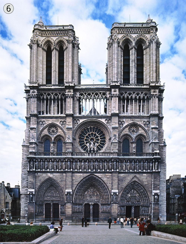 קתדרלת נוטרדאם, פריז, צרפת. יותר מ-14 מיליון תיירים בשנה (צילום: shutterstock)