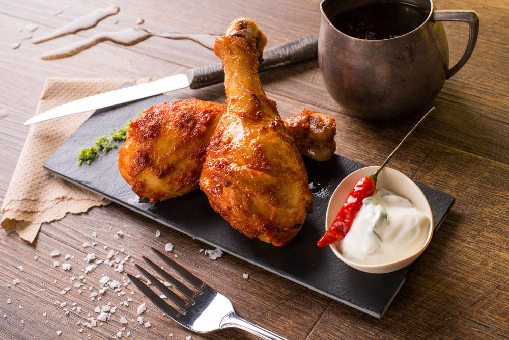 עוף בתנור בחרדל ודבש