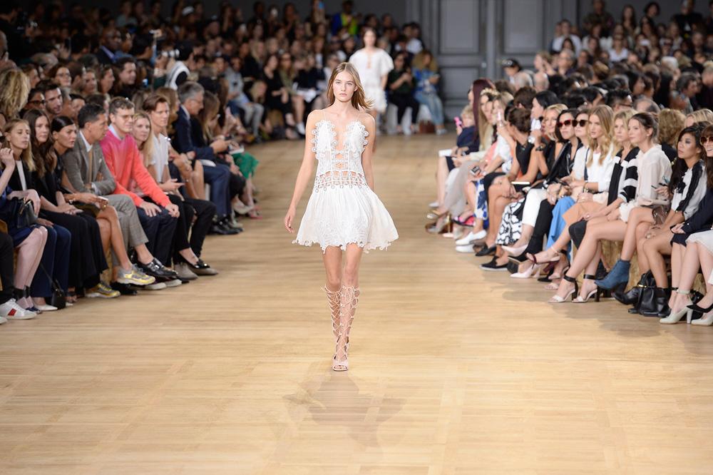 בית אופנה צרפתי נחשב. תצוגה של קלואה (צילום: gettyimages)