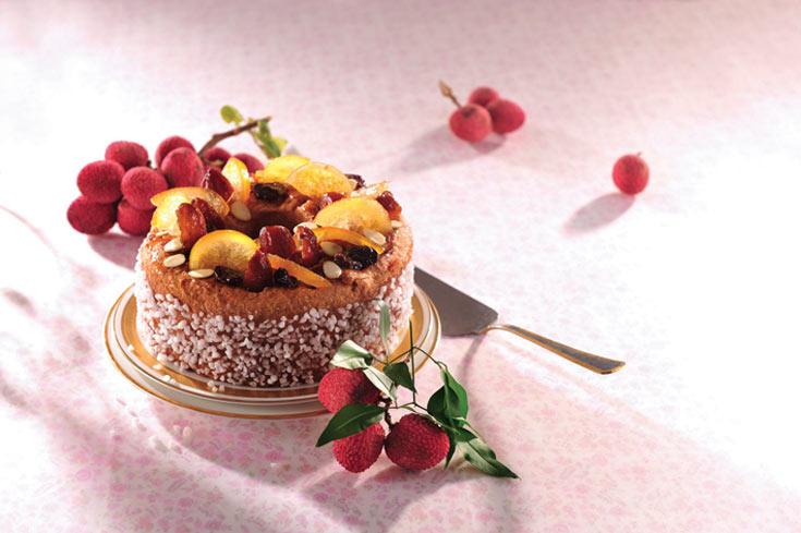 עוגת הדרים יפהפיה וחגיגית (צילום: פיליפ מטראי )