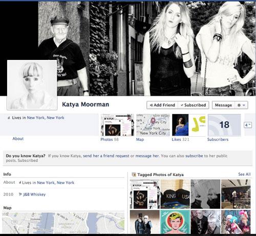 הפייסבוק של קטיה מורמן