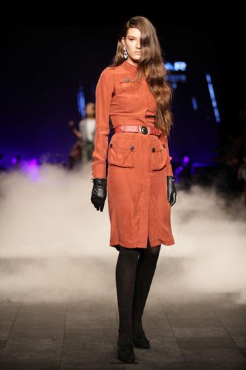 תצוגת האופנה של רנואר. שום דבר לא ממש עורר אצלנו את החשק לשלוף את הארנק (צילום: קובי בכר)