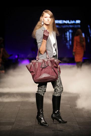 תצוגת האופנה של רנואר לסתיו-חורף 2012-13 (צילום: קובי בכר)