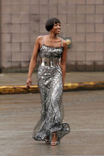 מלכת השערוריות. נעמי קמפבל (צילום: gettyimages)