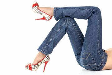 ג'ינס טוב הוא פריט רב עונתי, וישמור על מראה אלגנטי או יומיומי (צילום: shutterstock)