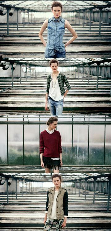 ברשקה. קולקציית בגדים רחבה לצעירים וצעירות