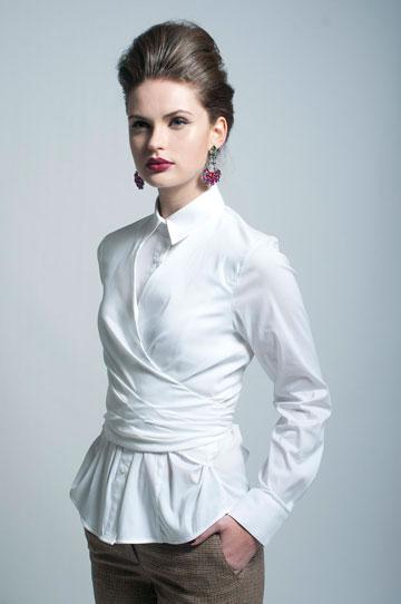 Blanche by Clila. מותג ישראלי לחולצות לבנות (צילום: דור מלכה)