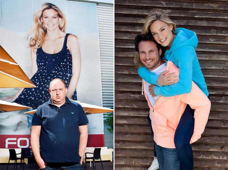 בר רפאלי ונועם טור בקמפיין חורף 2010-11 של FOX (מימין) והראל ויזל. ''הבגדים שלנו הם המסר''  (צילום: ענבל מרמרי, יריב פיין וגיא כושי)