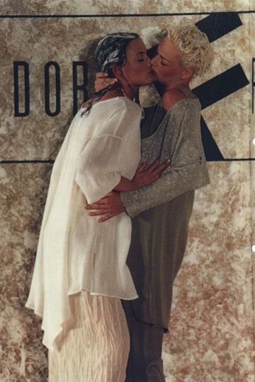 תצוגת אופנה של דורין פרנקפורט ביום הגאווה, 1994