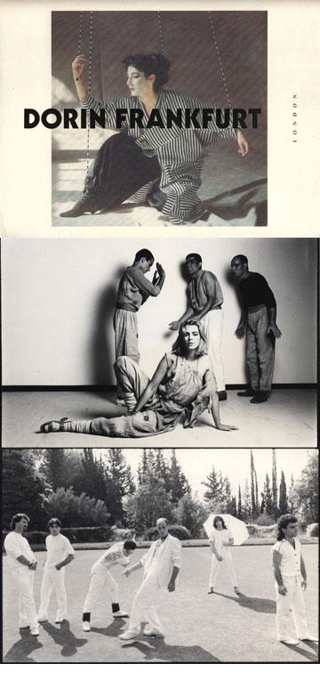 עיצובים של דורין פרנקפורט בשנות ה-80, ולהקת תיסלם שאותה הלבישה