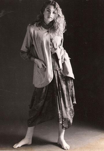"""מיכאלה ברקו לגרשון ברם, 1992. """"זה לא כמו הילדות הרזות שמתרוצצות היום על מסלולים"""""""