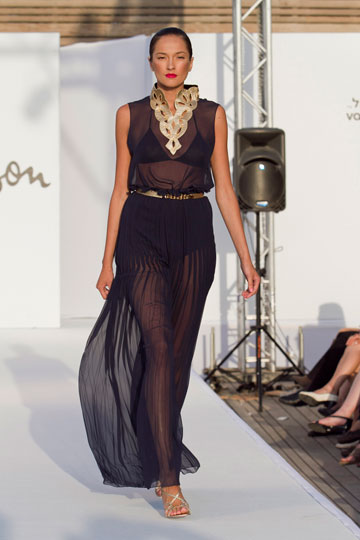 תצוגת האופנה של גדעון אוברזון, קיץ 2011  (צילום: לם וליץ סטודיו )
