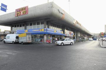 התחנה המרכזית בבאר שבע לפני השיפוץ (צילום: הרצל יוסף)