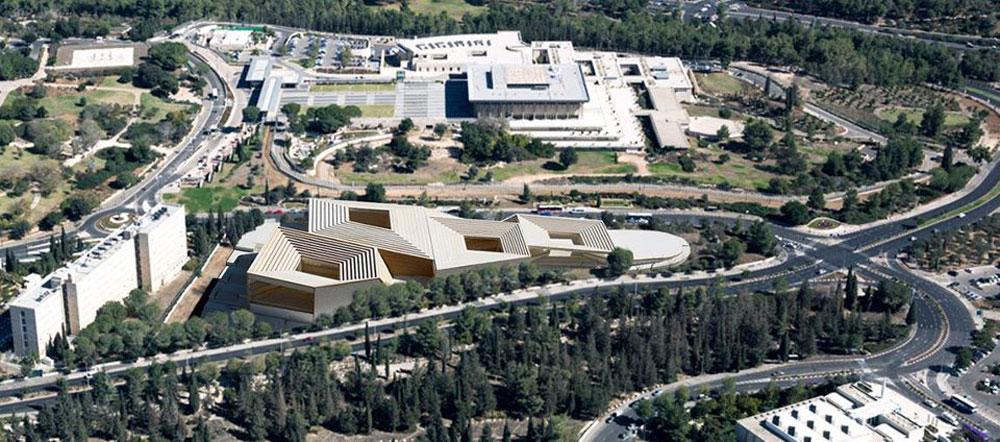 כך תיראה הספרייה הלאומית בירושלים. הצעתו של רפי סגל