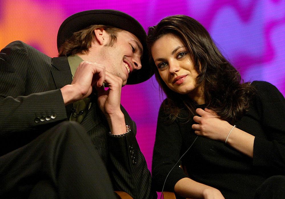 הזוג היחיד שאנחנו סומכים עליהם. אשטון קוצ'ר ומילה קוניס (צילום: gettyimages)