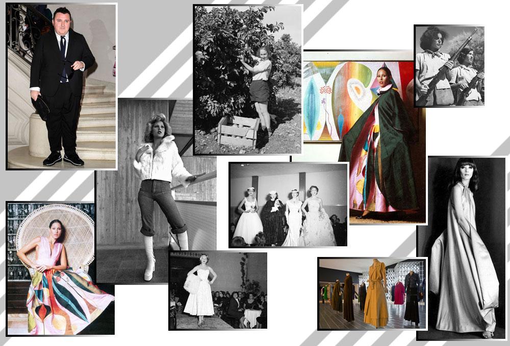 מגמות האופנה העולמיות חלחלו לתודעה המקומית באיחור ניכר. אופנה ישראלית