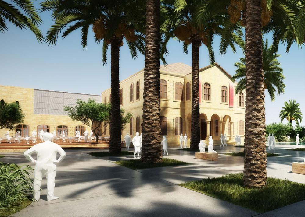 מתחם מרשים שמתעכב כבר שנים. האם השנה הוא ייחנך סוף סוף? פארק המדע בבאר שבע, שמוקם על בסיס בניין עותמאני מפואר בעיר העתיקה (הדמיה: טוטם)