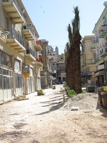 כפי שהבטיחה עיריית חיפה, השוק הטורקי עבר שיפוץ וייפתח בקרוב (צילום: נעמה ריבה)