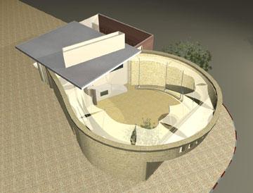 באר אברהם בבאר שבע (באדיבות ארמון אדריכלים)